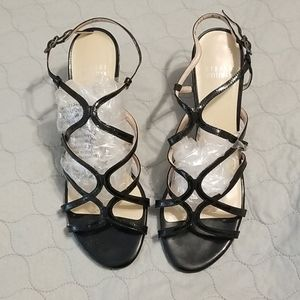 Stuart Weitzman Patent Leather Sandals
